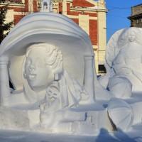 XIX фестиваль снежной скульптуры в Новосибирске, 2019г.