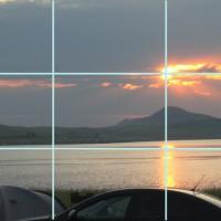 Асимметрия в фотографии, правило золотого сечения.