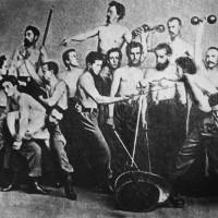 Спортивная тематика в истории фотографии.