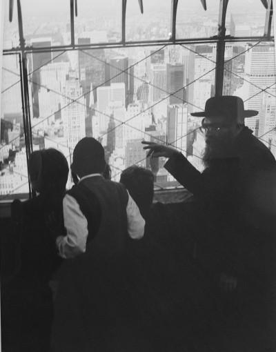 Еврейская семья в Нью-Йорке.
