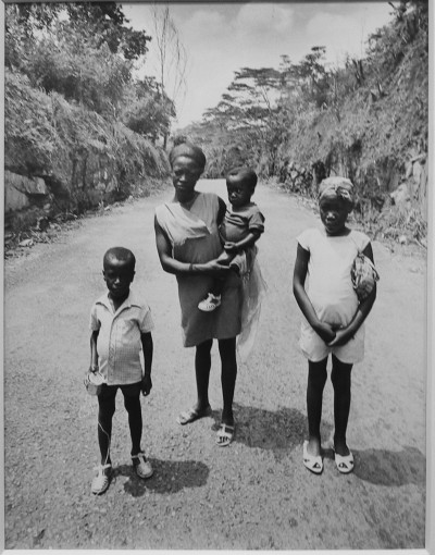 Африканская семья.
