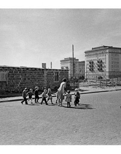 Восточный Берлин 1950-е годы.