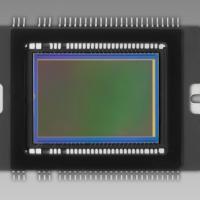КМОП-матрица цифрового фотоаппарата.