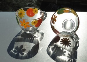Чашки стекло