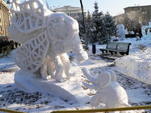 Снежные_скульптуры_Новосибирск