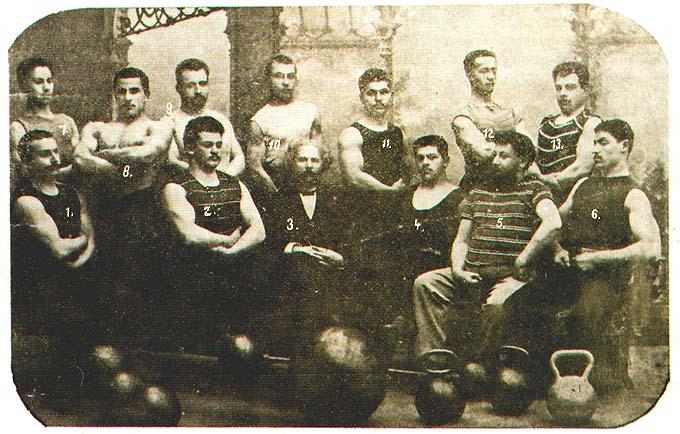 Otezh russkoi atletiki Kraevsky