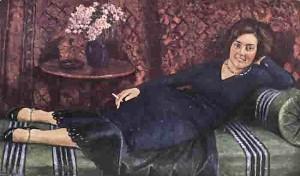 Игорь Грабарь. Портрет К.Медовой, 1932 г.