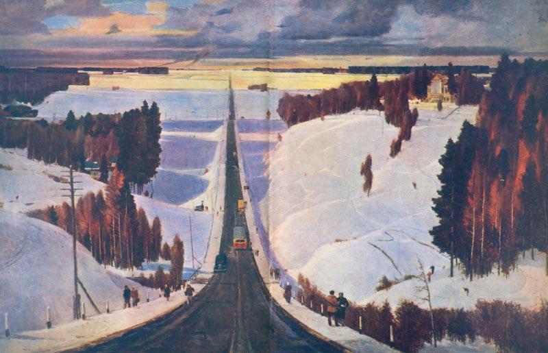 Георгий Нисский Зима