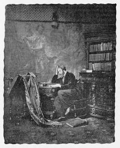 Генри Пич Робинсон. Автопортрет. 1863 г.