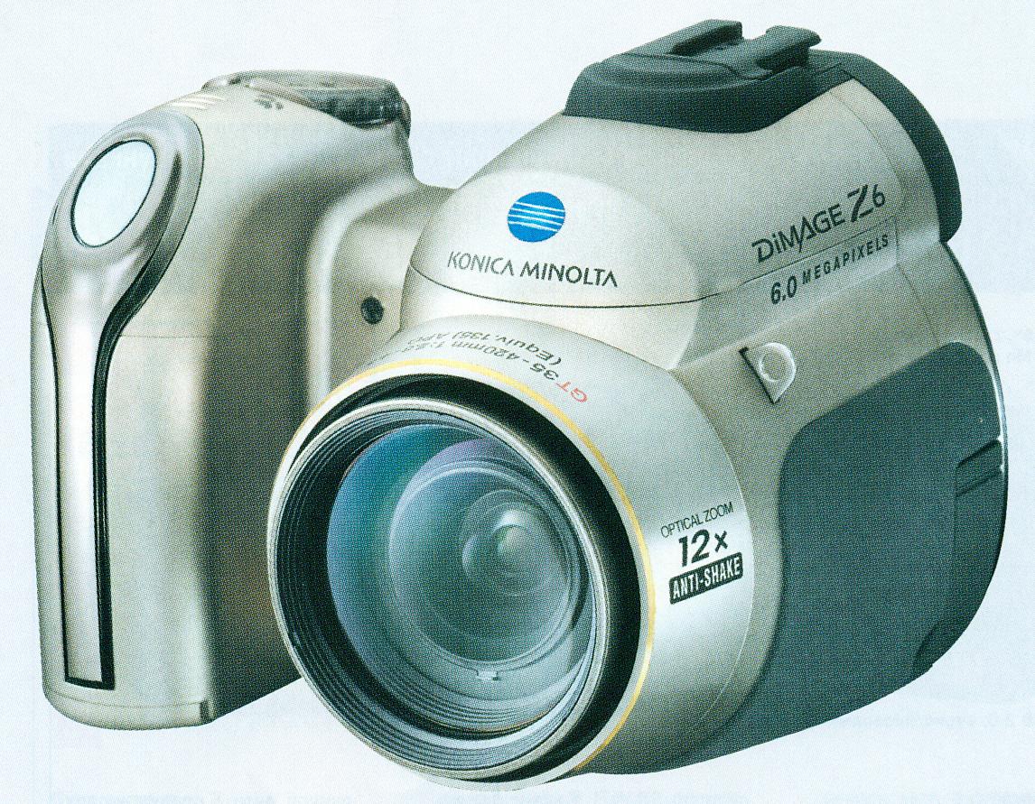 Konika Minolta DiMAGE X6.