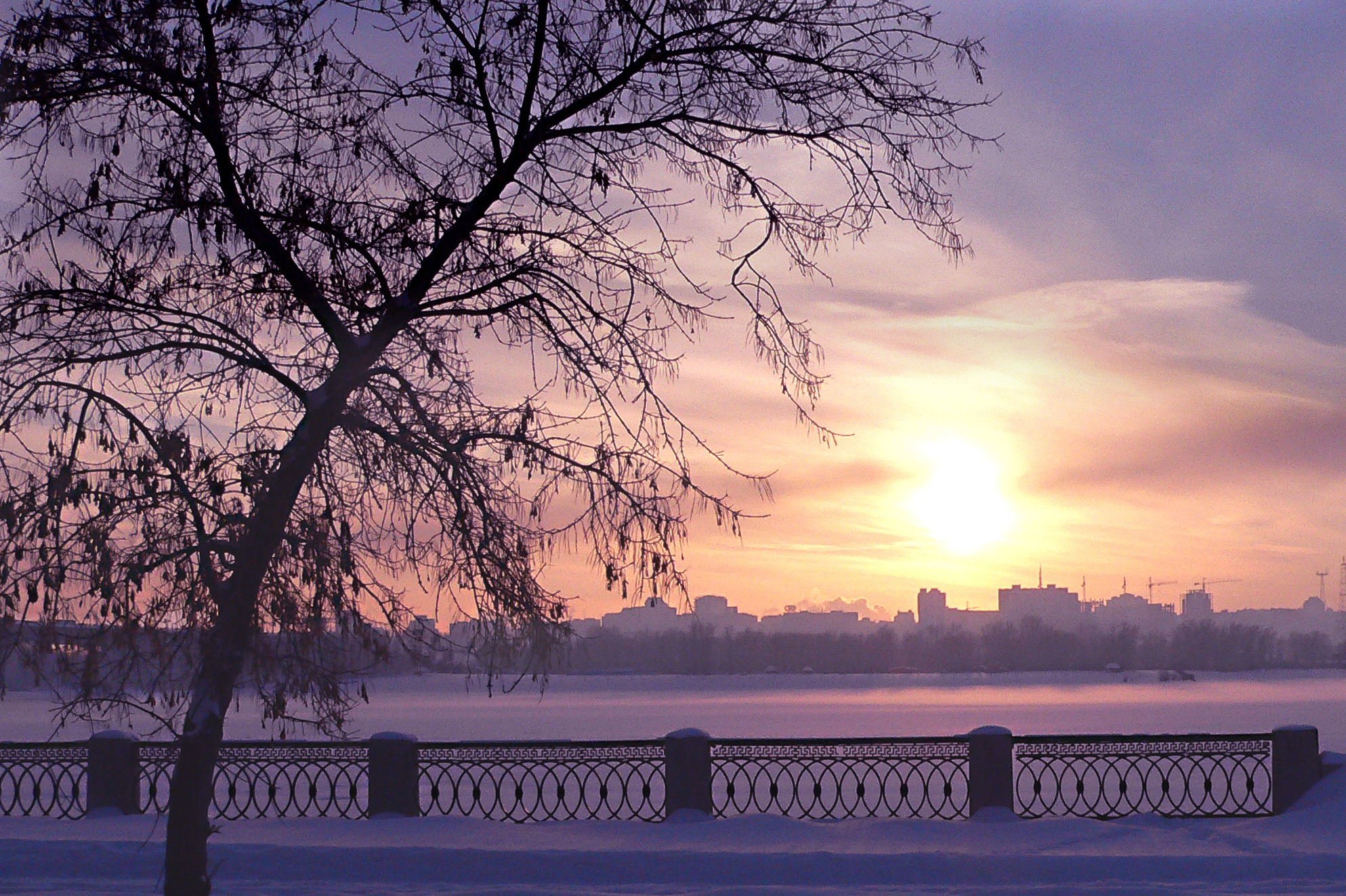 Фотография_зимы_вечер_Photo_zima_vecher