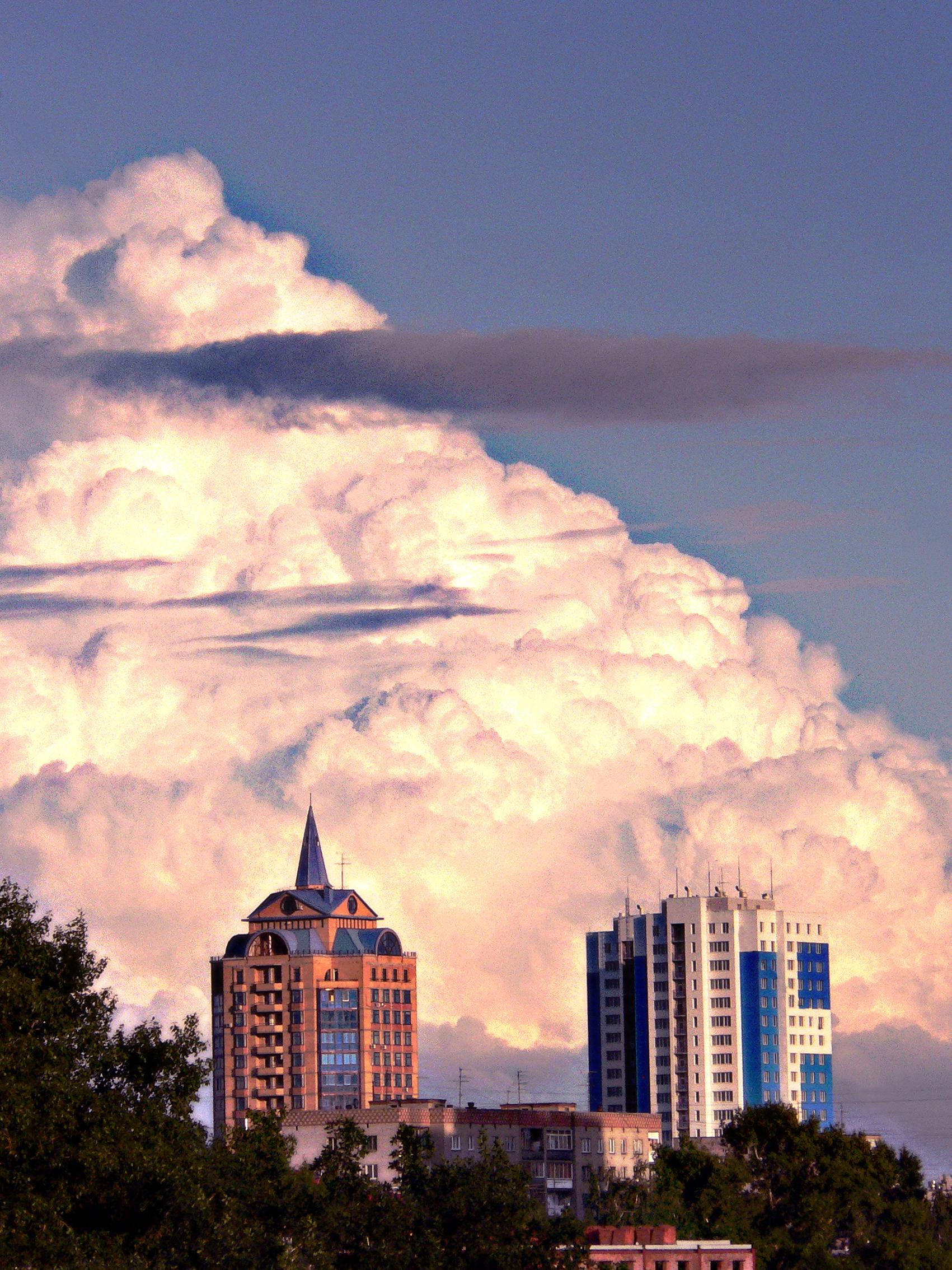 Фотография-города-туча