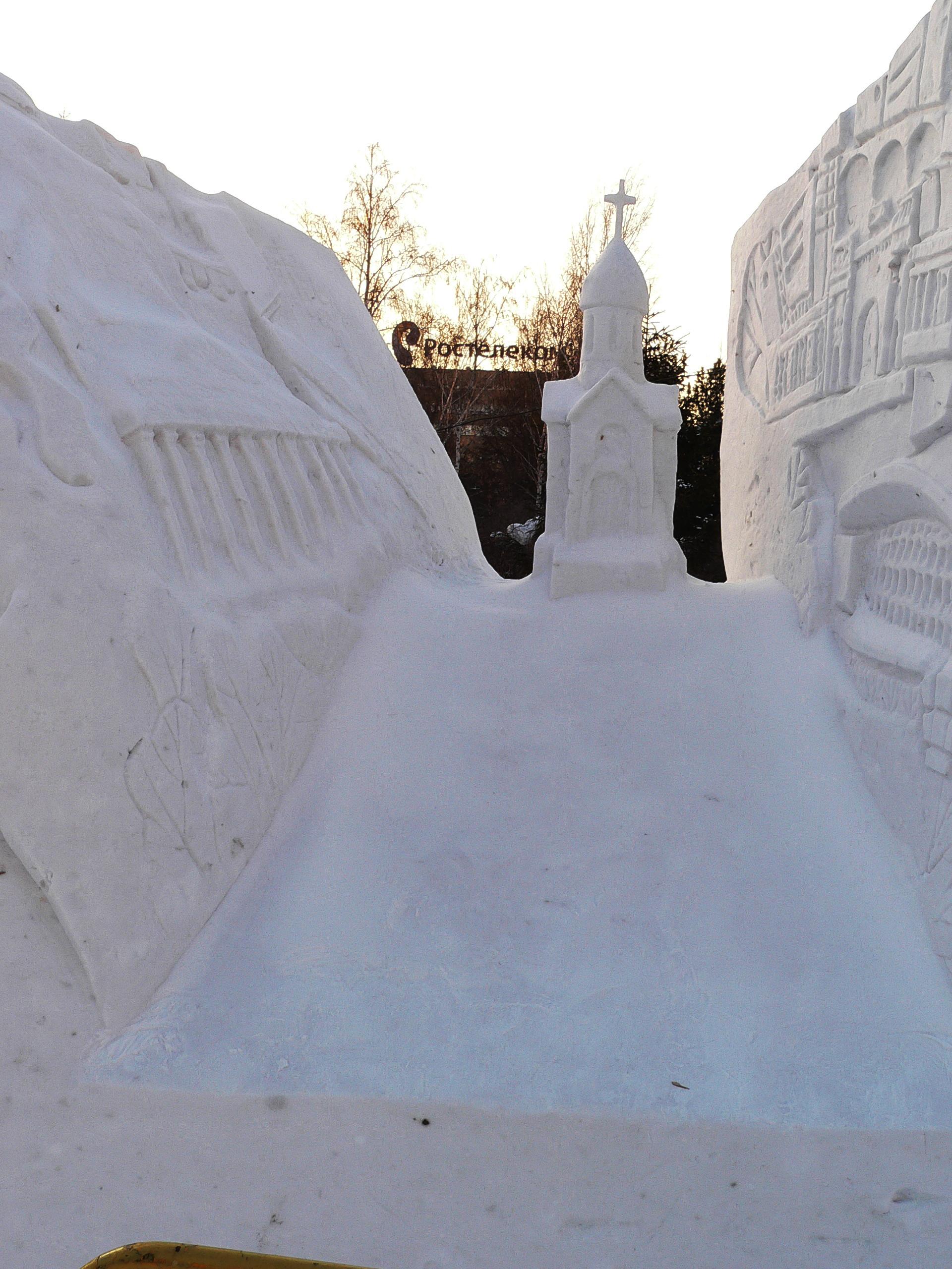 Снежная_скульптура_Новосибирск