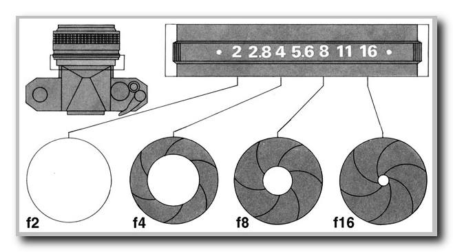 Объектив-диафрагма-схематичное-изображение