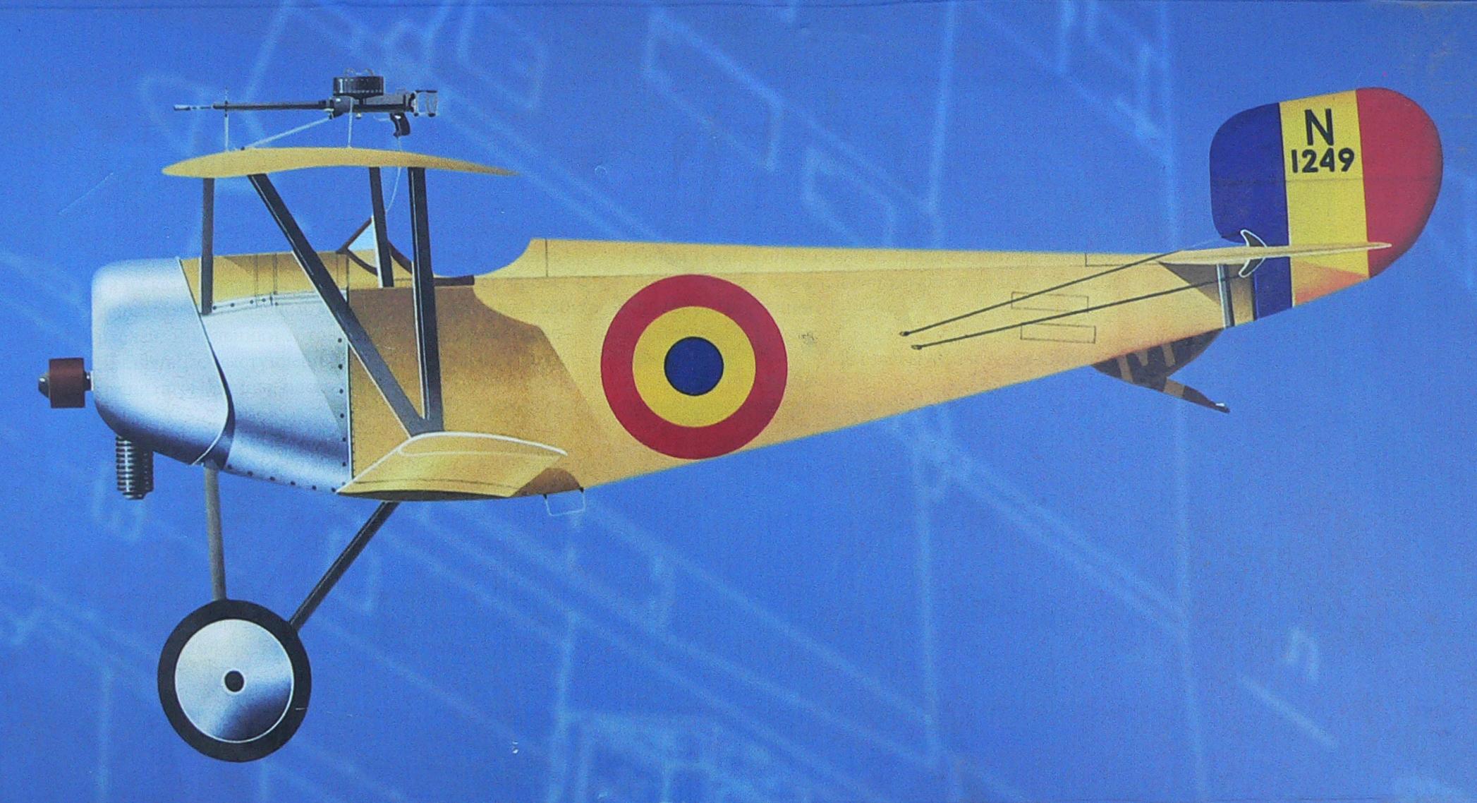 Фотография-самолета-NieuportX1