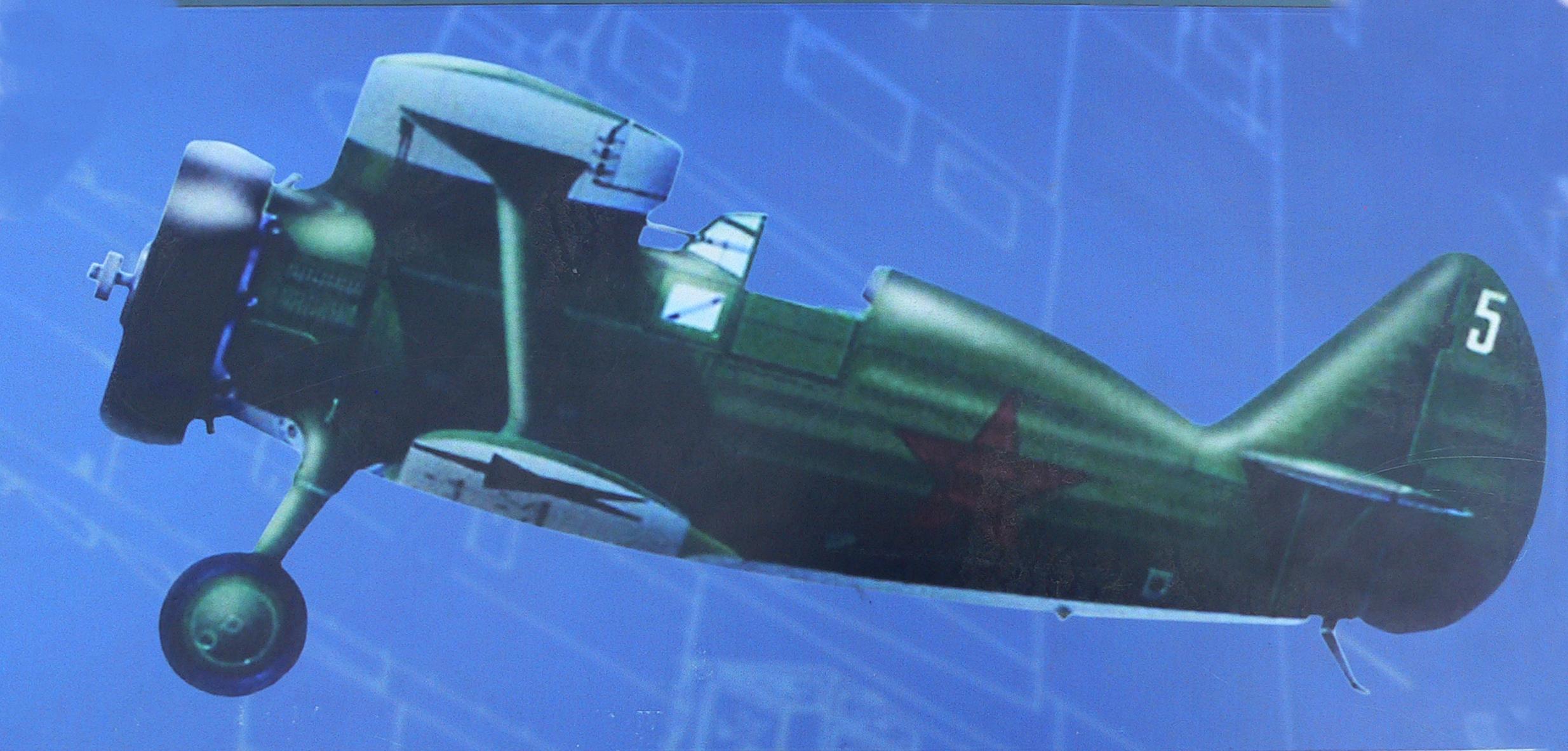 Фотография-советского-самолета-И15Бис