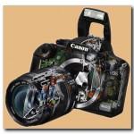 Устройство цифрового фотоаппарата. Фотовспышка.