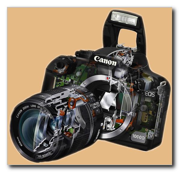 Фотоаппарат-Canon-со-вспышкой