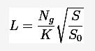 Формула-ведущее-число-вспышки