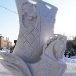 XIV сибирский фестиваль снежной скульптуры, Новосибирск 2014.