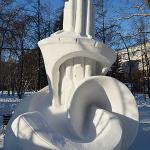 Фестиваль снежной скульптуры в Новосибирске, 2018 г.