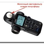 Фотоэкспонометры. Способы применения.