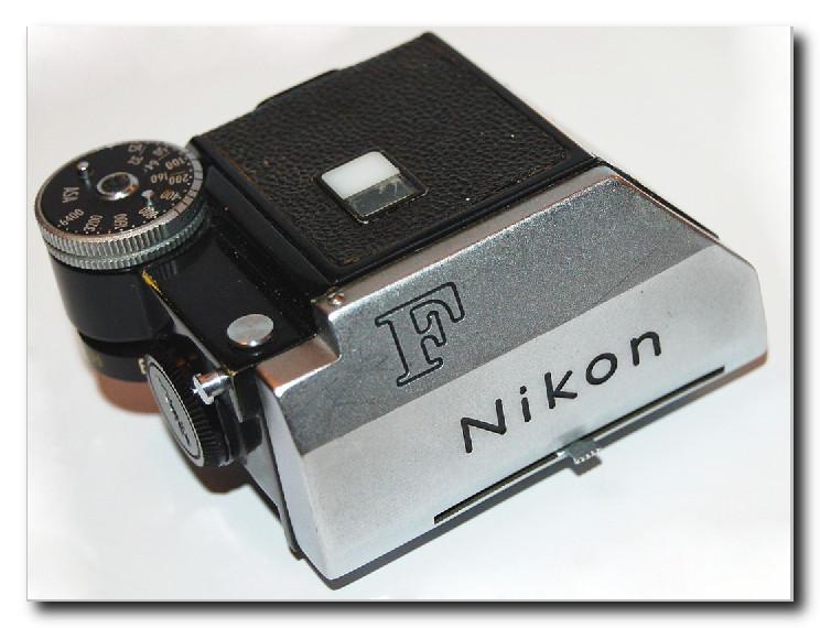 Сменная пентапризма Photomic T с TTL экспонометром NikonF 1965 г.