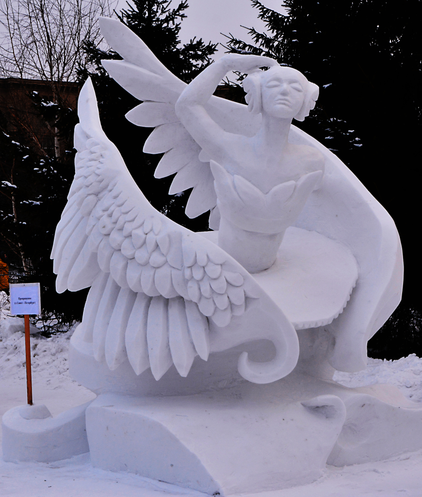 Фотография-снеговой -скульптуры-2019-Превращение1