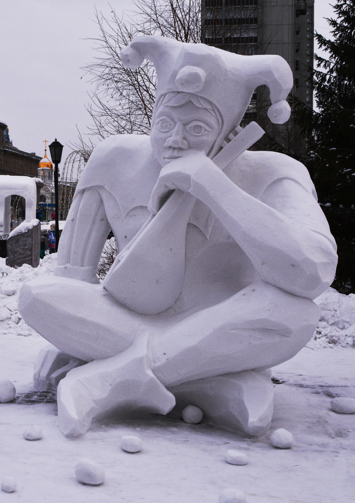 "Скульптура-""Арлекин""- г.Новосибирск- 2019- 3-е место."
