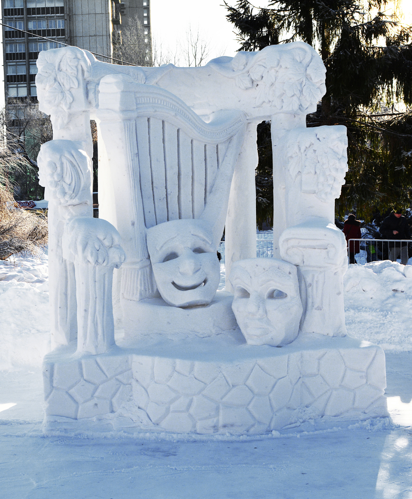 Фотография-снежной-скульптуры-2019-ожидание-музы