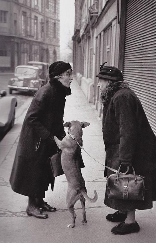 Уличная сценка, 1952 г.