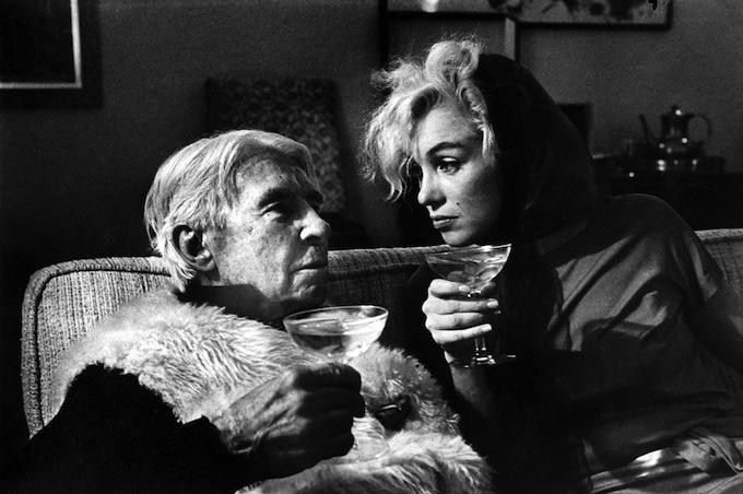 Карл Сэндберг и Мэрилин Монро, 1962