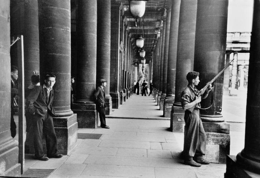 Париж, 1944 г.
