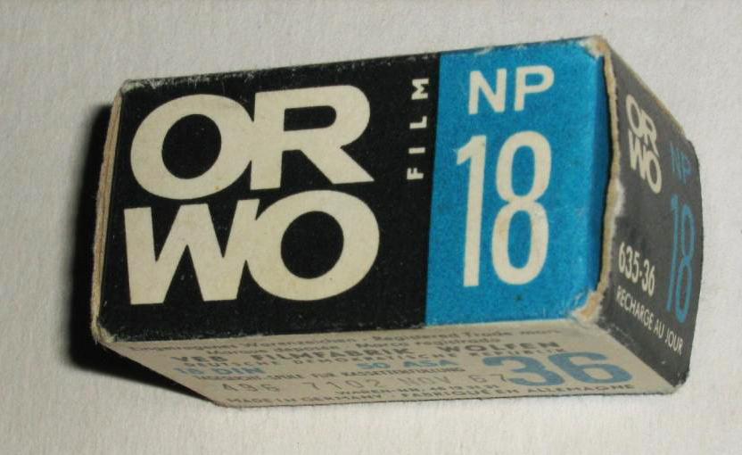 Фотопленка ORWO NP-18.