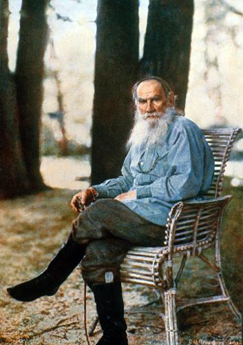 Прокудин-Горский. Фотография Льва Толстого.