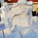 XX-ый фестиваль снежной скульптуры в Новосибирске, 2020 г.